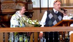 Echtpaar Poortinga 25 jaar Kosterschap Burum