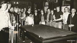 De Westereen. De Biljartclub bij De Hossebos in 1980