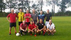 Friese Boys veteranen in training voor jubileumwedstrijd