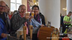 Speciaal bier proeven in de kerk bij Admiraliteitsdagen