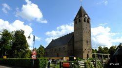 De Nederlands Hervormde kerk in Oudega Sallingerland (nu)