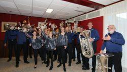 Heldenconcert Concert Brassband Wilhelmina in de Colle in Kollum