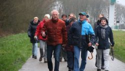 Wandeltocht en Nieuwjaarsloop VV Kollum