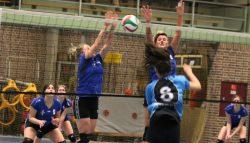 Triumphera dames 1 wint streekderby