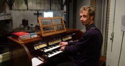 Jaap Sake Heeringa met nieuwe orgelimprovisaties
