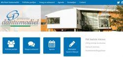 Verkiezingswebsite www.wiekiestdantumadiel.eu