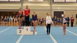 Fenna van Duinen behaalde brons