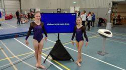 Jildou Halma en Delina van der Meulen