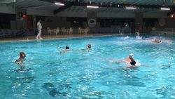 Waterpolowedstrijd PWC tegen ZPC Hoogeveen
