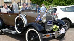 Elfsteden Oldtimer Rally door Dokkum