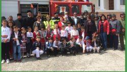 Brandweerauto naar Roemenië