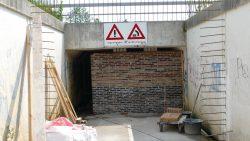 Winterverblijf vleermuizen in tunneltje onder Sintrale As
