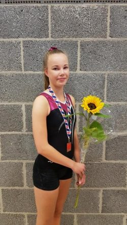 Fenna Peterson wint brons op FK turnen