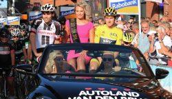 Tourwinnaar Geraint Thomas wint ook in Surhuisterveen