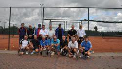 Jaarlijks tennistoernooi in Westergeest