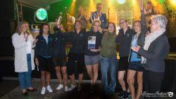 De dames van D.O.A. Dokkum winnen de Univé Slag om NO Friesland