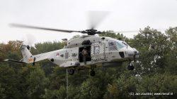 NH90 helikopter op het Harddraverspark
