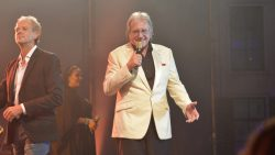 Lee Towers genoot tijdens zijn gastoptreden