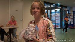 Prijswinnares Binneke Boltjes won de spek-pot