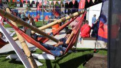 Heerlijk hangen in de Relaxerette op De Markt