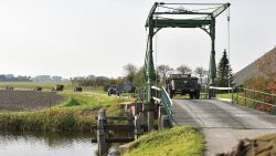 Toertocht voertuigen KTR rondje om Lauwersmeer