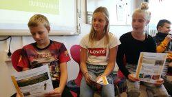 Voorlezen op CBS de Pionier in Dokkum tijdens Dag van de Duurzaamheid