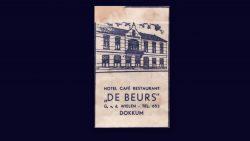 Suikerzakje  Hotel Café Restaurant de Beurs Dokkum