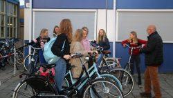 Leerlingen !mpulse Kollum, veilig op de fiets naar school