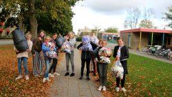Koningin Julianaschool in actie voor KNGF geleidehonden
