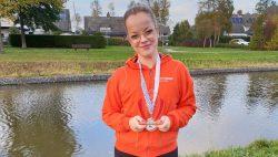 Anita de Vries winnares van het Pompeblêdsje in de seniorklasse