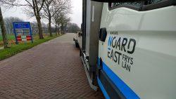 Nieuwe huisstijl gemeente Noardeast-Fryslân al zichtbaar op de weg