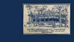 Suikerzakje  van Hotel Café Restaurant Vreewijk Drachten