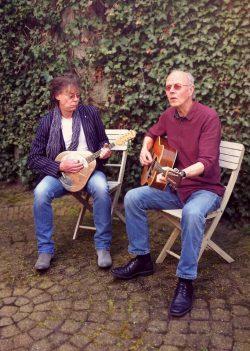 Roelof Reineman en Piet Kok in actie