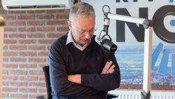 Bauke Hoekstra met zijn column 'segend nijjier'
