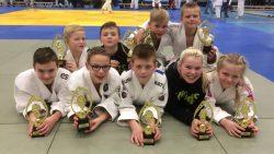Veel medailles voor Judo Kings