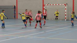 De openingswedstrijd Kollum tegen Friese Boys