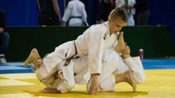 Goud voor Quinten van der Veen van judoclub Edwin Steringa
