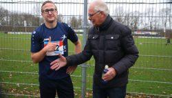 Johannes v/d Ploeg winnaar crossloop VV Kollum