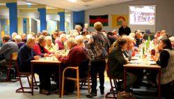 Stamppot buffet in het Lauwers College in Kollum.
