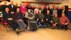 Kollumer oud-brandweerlieden weer bijeen
