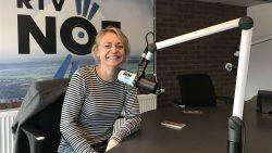 Jantina Braaksma bij de Weekend Nieuwsshow