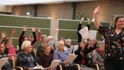 Feestelijke afsluiting van een bijzonder koor in Brugchelencamp