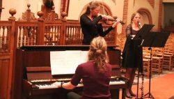Vivezza Trio trad op in de Maartenskerk in Kollum