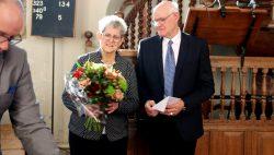 Afscheid van het kosters paar Jaap en Hannie Kingma