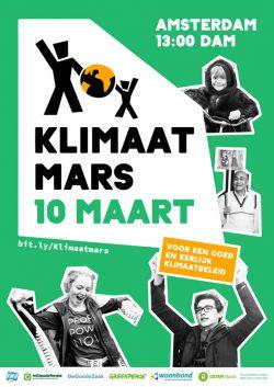 10 maart klimaatmars Amsterdam