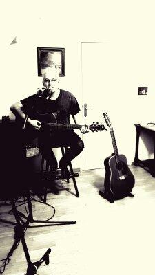 Optreden zanger Jacob de Boer in de Kruswei