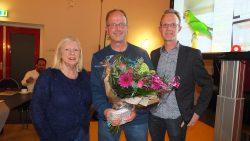 Harke Pel gehuldigd door Cootje Klinkenberg en Douwe Keegstra
