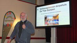 Presentatie verbouwplannen door Willem Kooistra
