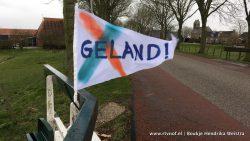Geland! vlaggetjes in regio roepen vragen op