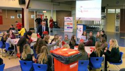 Leerlingen LC weer op vrijwilligerspad